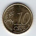 Lithuania, 10 Euro Cent, 2015